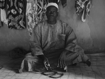 Abdou Njie, the head of the compound that I lived in.