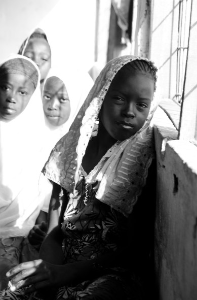 Girls at the local Islamic school.