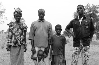 The Njie family who hosted me in their compound for two years.