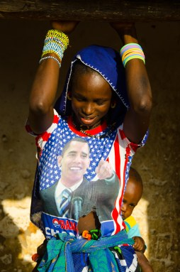 Obama is popular in The Gambia