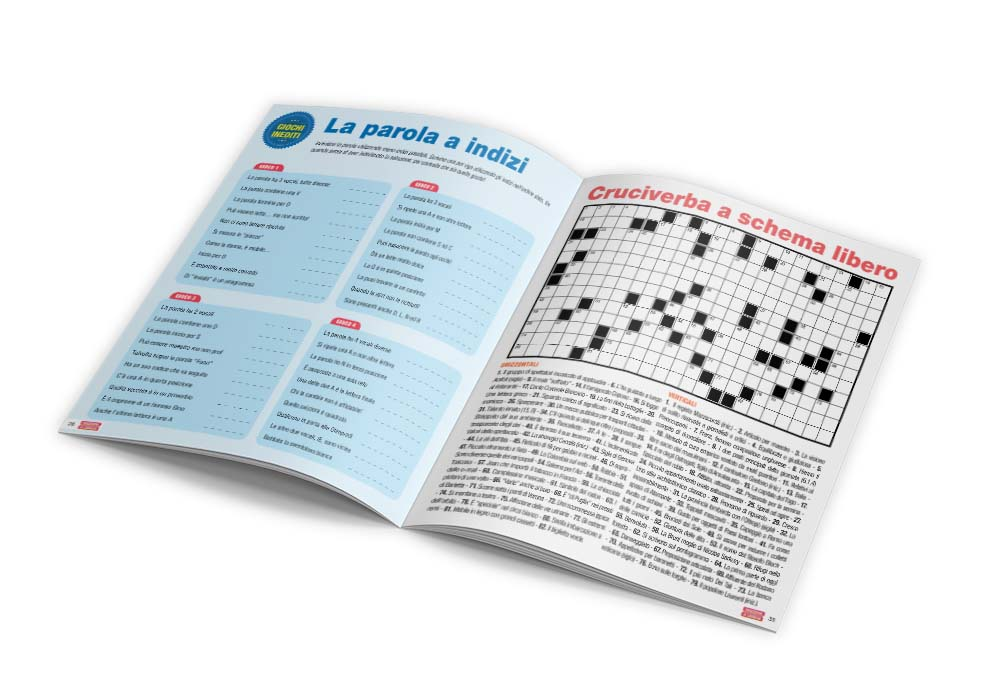 Impaginazione grafica rivista Reazione a Catena