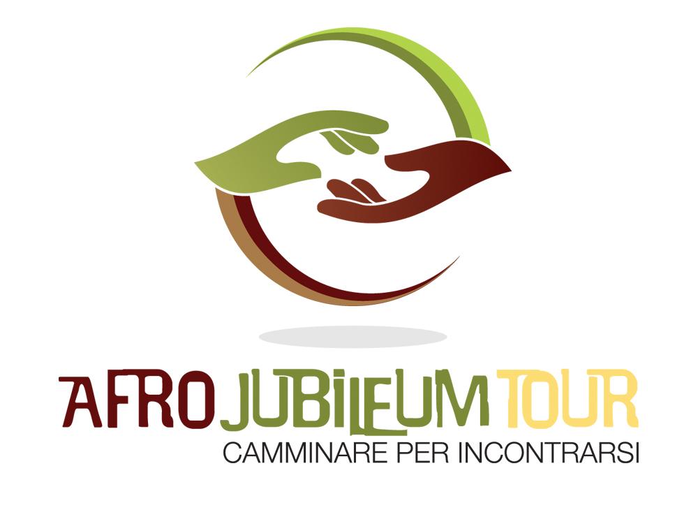 Progettazione logo marchio Afro Jubileum Tour