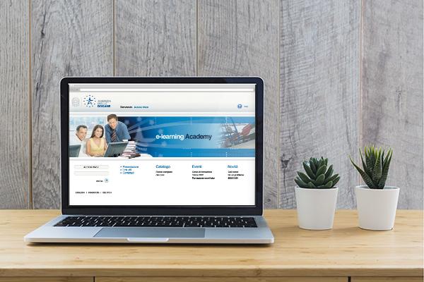 Interfaccia grafico piattaforma intranet ed e-learning Agenzia delle Dogane | alexiamasi.com
