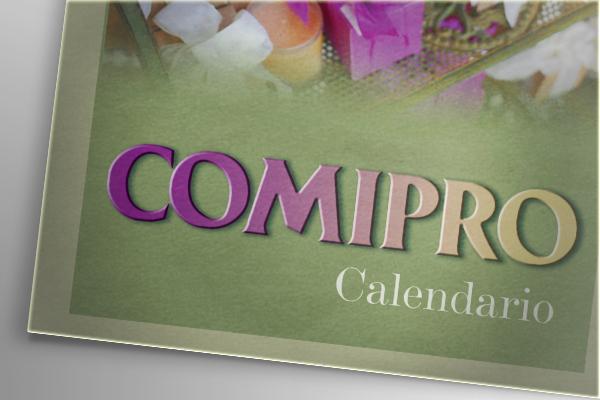 Progettazione grafica calendari Comipro