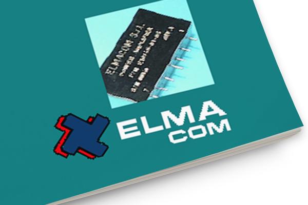 Progetto grafico impaginazione grafica brochure Elmacom