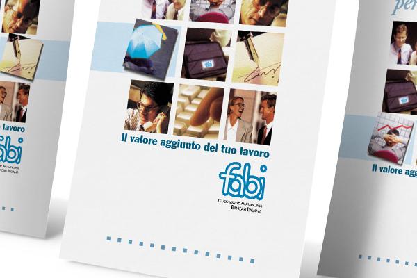 Creatività pagine pubblicitarie Fabi