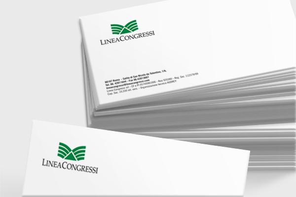 Progettazione logo marchio Linea Congressi