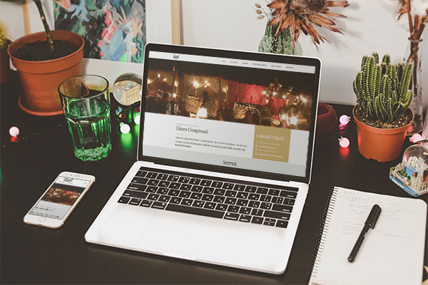 Realizzazione sito web Linea Congressi | alexiamasi.com