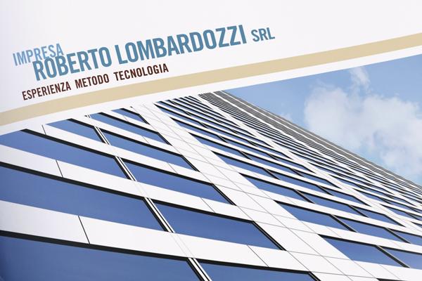 Impaginazione grafica brochure impresa edile Lombardozzi