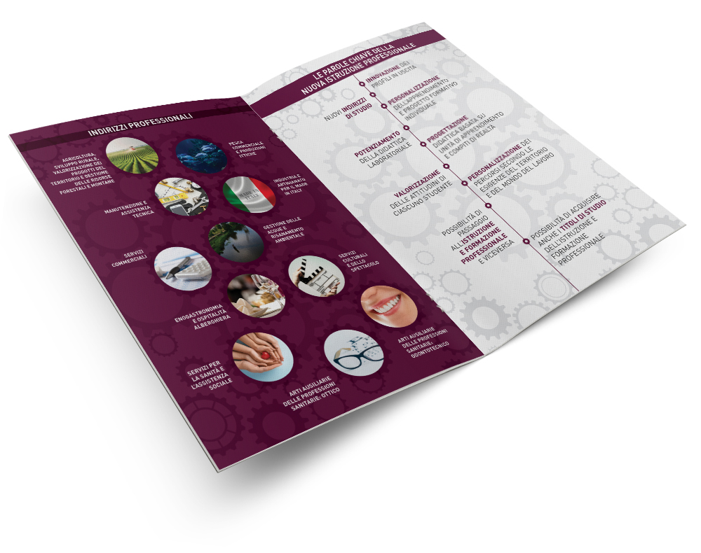 Impaginazione grafica brochure Miur | alexiamasi.com
