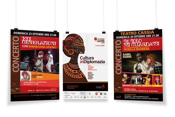 ottobre africano 2016 manifesti