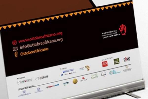 Creatività roll-up Ottobre Africano