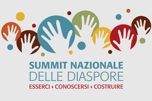 Progettazione logo marchioSummit diaspore | alexiamasi.com