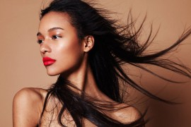 Red Lipstick How Wear Lips Model Hair Photoshoot