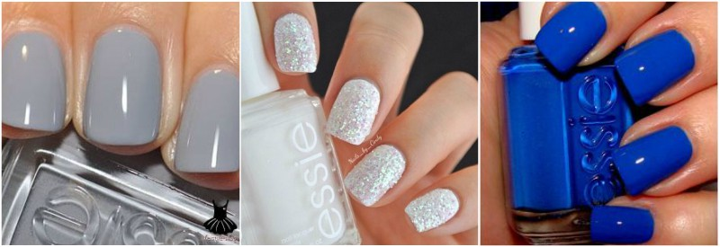 Icy Winter Nail Colours
