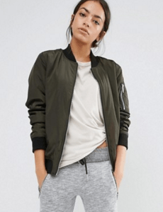 New Look Padded Bomber Jacket £24.99
