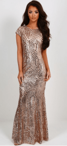 Millionaire Sequin Maxi Dress £79.00 from Pink Boutique