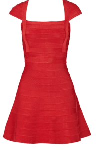 HERVÉ LÉGER Bandage mini dress £571.50