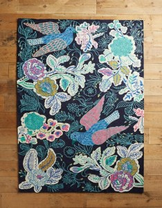 Anthropologie Rosaleda Rug
