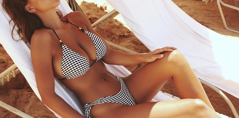 Big busted bikini