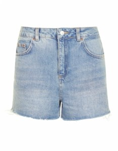 Highwaisted denim Topshop shorts