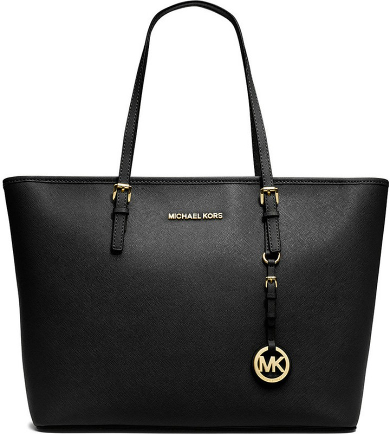 Michael Kors Jet Set Travel medium saffiano leather tote