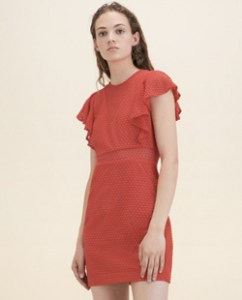 Wedding Guest Dresses Maje Red