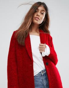 ASOS Suncoo Wool Coat