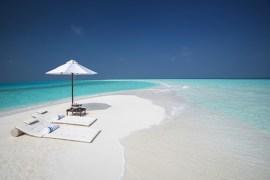 Milaidhoo private sandbank Maldives