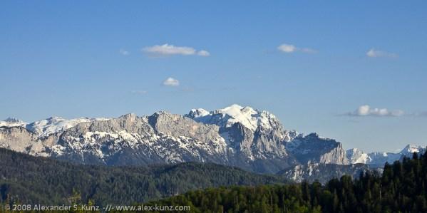 Reiter Alpe vom Inzeller Kienbergl