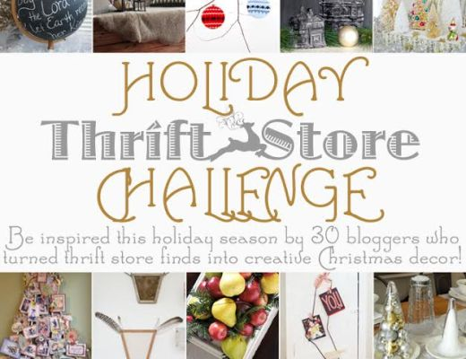 2014 Holiday Thrift Story Challenge | Thoughts from Alice - a wonderful compilation of DIY Thrifty Christmas Projects!