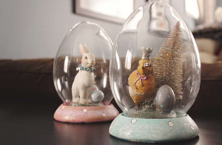 Easter Cloches - the before, mini easter makeover | alex inspired
