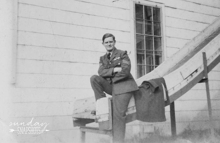 Stan Jones, 1943 Photo by Glenna Hare, Sunday Snapshots - 1943 | Alex Inspired