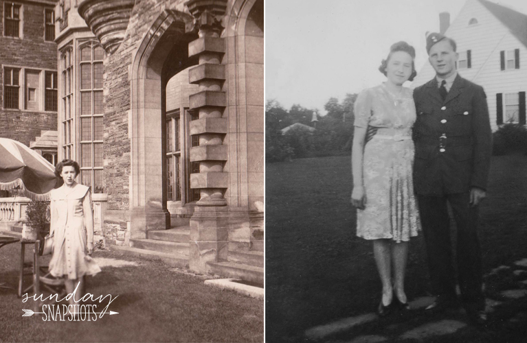 Valerie, Glenna and Dennis, 1943 Photos by Glenna Hare | Alex Inspired