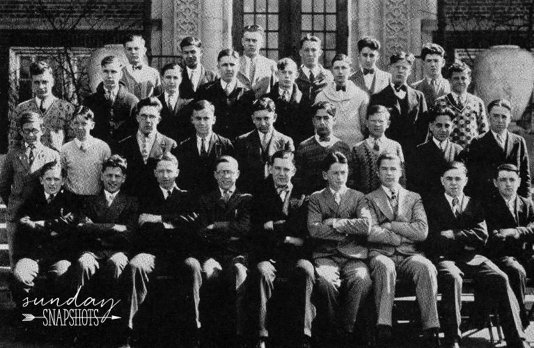 1928 De La Salle High School Year Book Photo of Stanley Golden | Alex Inspired