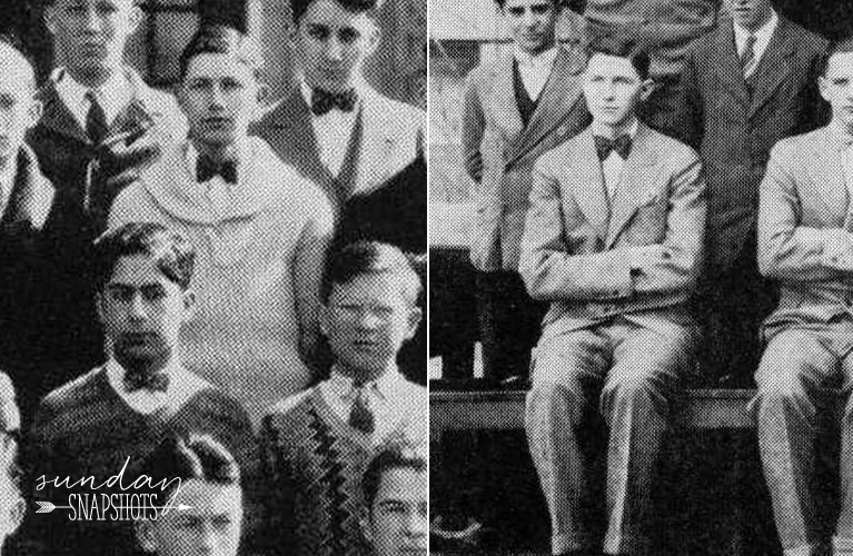1928 and 1929 De La Salle High School Year Book Photos of Stanley Golden | Alex Inspired