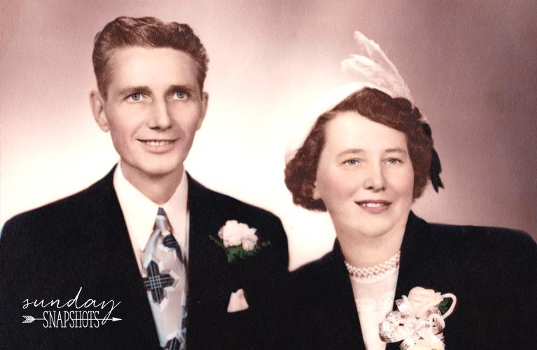 Stanley & Glenna Golden Wedding Photo | Alex Inspired