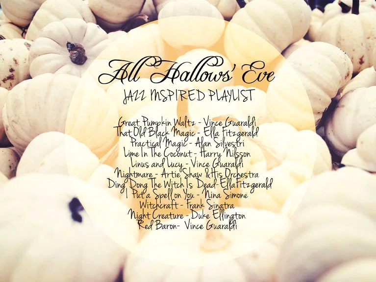 A Jazz Inspired Halloween Playlist | Alex Inspired