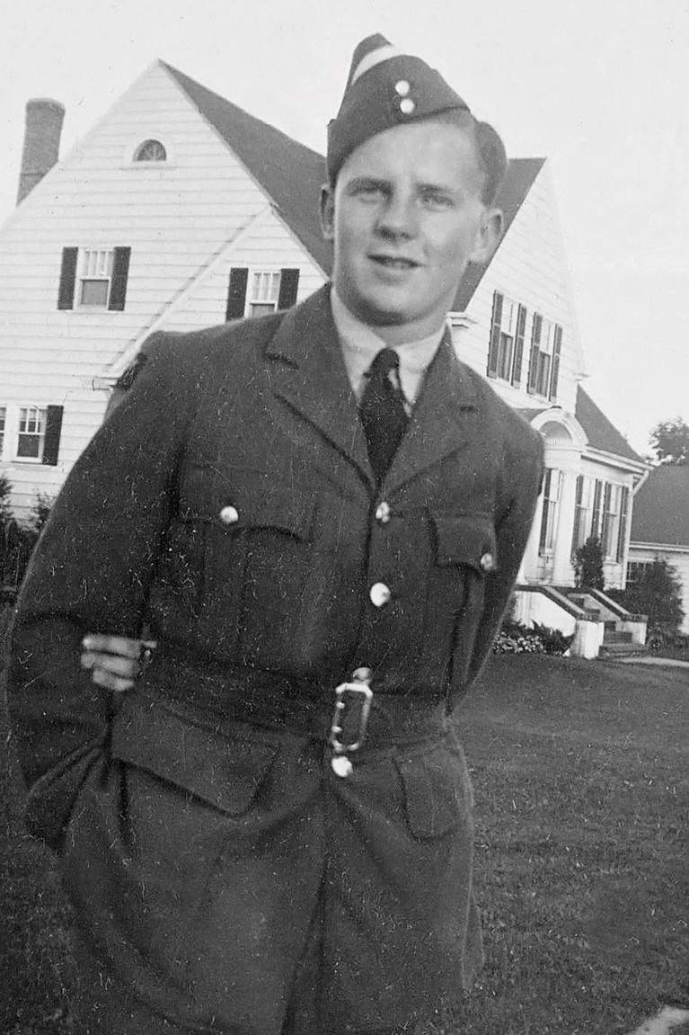 Dennis Marsh RAF, Sept-1943