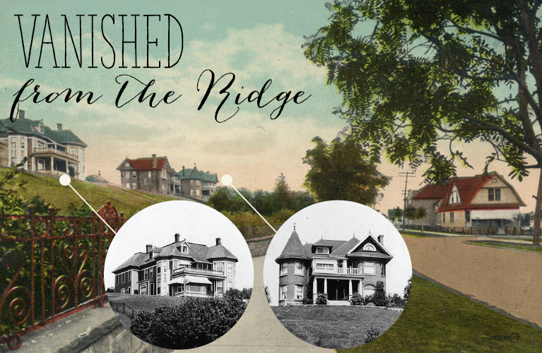 Ever wonder what happened to some of the stately homes on North Court Street? | Alex Inspired - Vanished from the Ridge