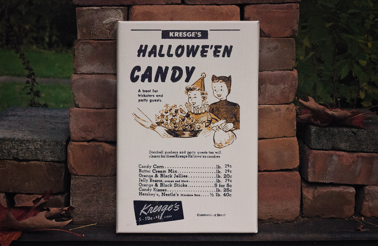 Vintage Halloween Ad Art | Easy to create canvases for authentic and fun Halloween Decor | Alex Inspired