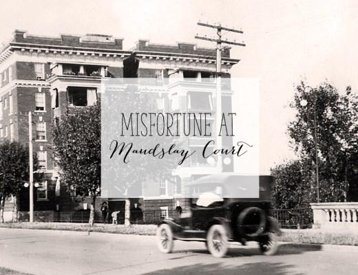 Misfortune at Maudslay Court | Alex Inspired
