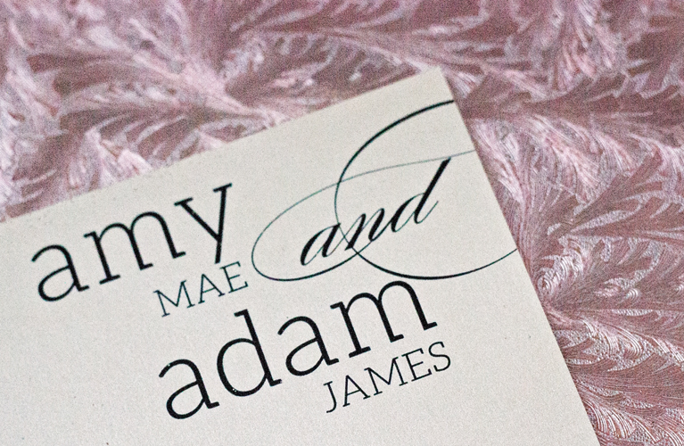 Adam + Amy Wintery Wedded Bliss |Alex Inspired