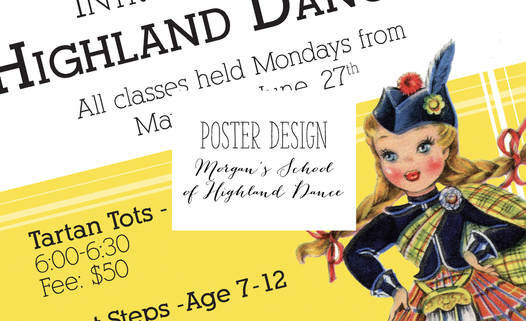 Morgan's School of Highland Dance Designs | Alex Inspired