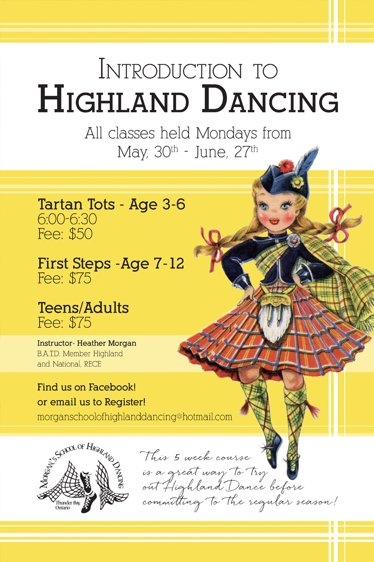 Morgan's School of Highland Dance Designs | Alex Inspired