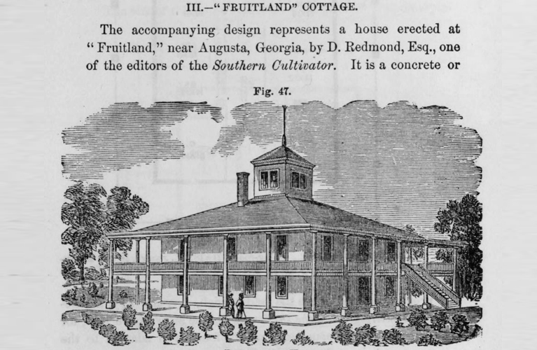 The Fruitlands Cottage, now home to the Augusta Golf Clubhouse | Alex Inspired