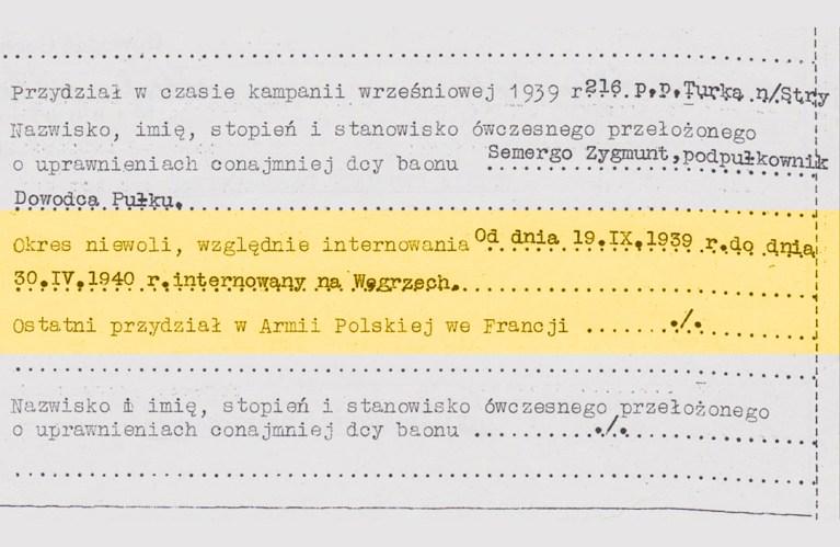 Kapitan Franków - okres niewoli, względnie internowania? od dnia 19. IX. 1930 r do dnoa 30. IV. 1940 r. internaowany na Wegrzech | Alex Inspired