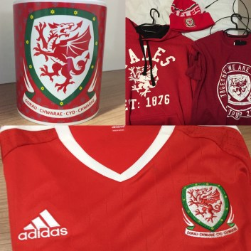 Wales Football merch