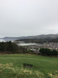 Bangor (view from Roman camp)