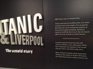 The Titanic & Liverpool exhibition
